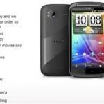 Новый смартфон HTC Sensation