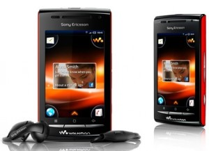 Android W8 от Sony Ericsson