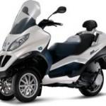 Трехколесный гибридный мотоцикл