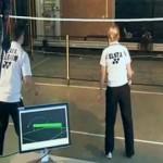 Робот, который умел играть в бадминтон