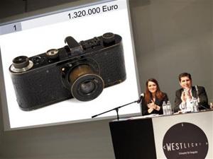 Немецкий фотоаппарат производства компании Leica