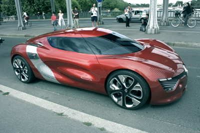 Электромобиль Renault DeZir