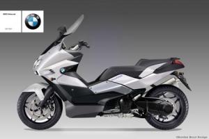 Эскиз будущего скутера от BMW