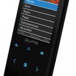 Новый плеер QUMO Neon с тачскрином и сенсорными кнопками