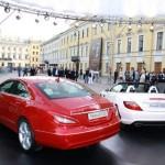 На ежегодном Экономическом форуме в Санкт-Петербурге публике представили новый электромобиль от Mercedes-Benz