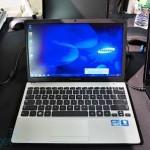 Samsung  демонстрирует новые ноутбуки