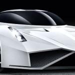 Новая модель электромобиля от компании E-Wolf