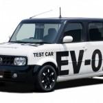 Nissan тестирует электрокар