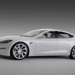 Соревнования электромобилей Tesla Model S и Faradays Future FF 91