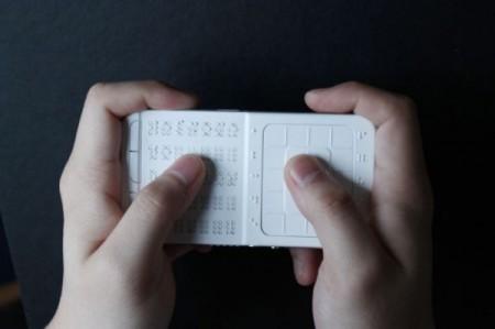Концепт телефона для незрячих людей