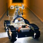 Робот для помощи пострадавшим шахтерам