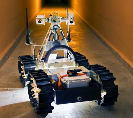 Робот для помощи шахтерам