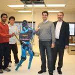 Рекорд «человекоподобного» бега для робота
