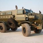 Южноафриканский броневик построен на российском шасси