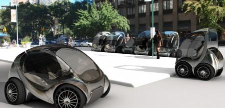 В США разработан складной электромобиль