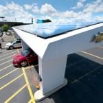 Дженерал Моторс собирается заправлять электромобили солнцем