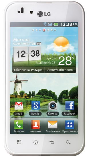 LG Optimus Black (P970) w