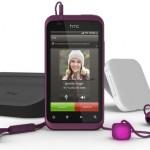 Дамский смартфон HTC Rhyme поступает в продажу