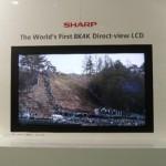 Sharp изготовил телевизионную панель со сверхвысоким разрешением