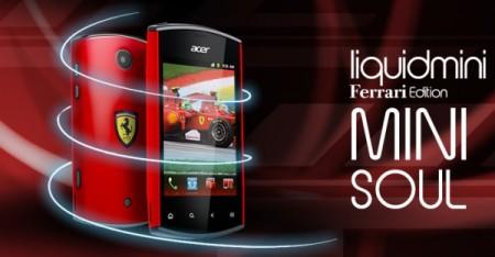 Acer liquidimini Ferrari Edition