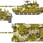Танк Т-90АМ снова переделали