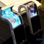 Прототип телефона Samsung с гибким экраном