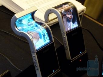 Гибкие телефоны Samsung