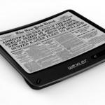 Первая в мире сгибающаяся электронная книга