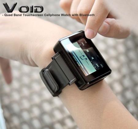 Void – телефон + наручные часы