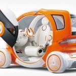 Миниатюрный электрокар Suzuki Q