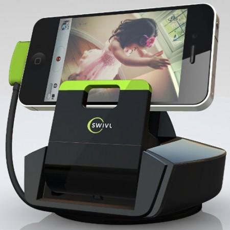 Swivl – док-станция для смартфона с датчиком движения