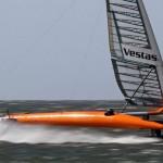 VESTAS Sailrocket 2 готовится побить рекорд скорости среди парусных яхт