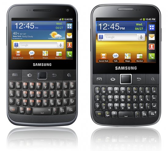 Samsung представила еще два новых смартфона