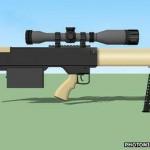 Испытание нелетальных лазерных винтовок SMU 100