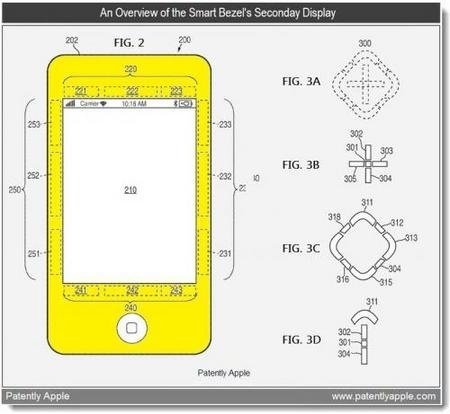 патент Apple умная рамка