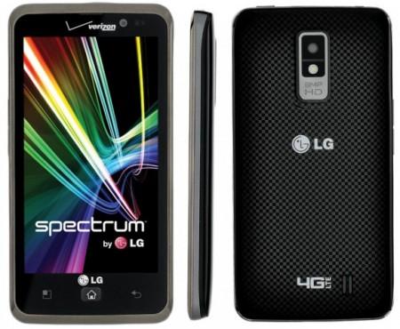 LG Spectrum с поддержкой LTE