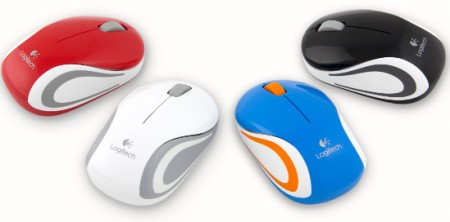 Мышь Logitech Wireless Mini Mouse M187 (2)
