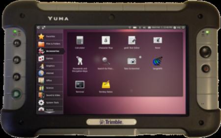 планшет Trimble Yuma на Linux