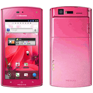 супертонкий смартфон NEC MEDIAS ES N-05D
