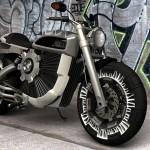 Дизайнер Алекс Киш разработал концепт фантастического электромотоцикла