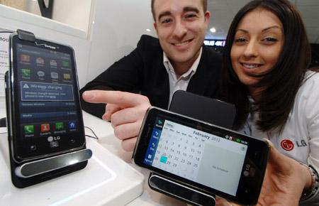 LG представила беспроводное зарядное устройство