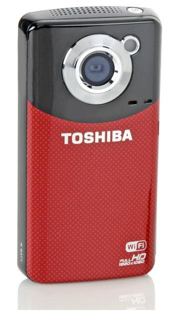 Миниатюрная Full HD камера Toshiba Camileo AIR10 (1)