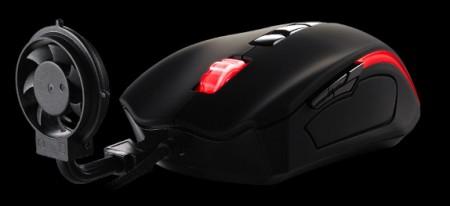 Компьютерная мышь с пропеллером