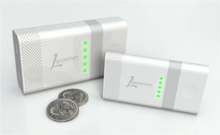 Портативная зарядка на топливе для смартфонов