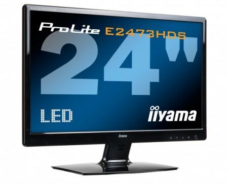 24-дюймовый экран Iiyama ProLite E2473HDS