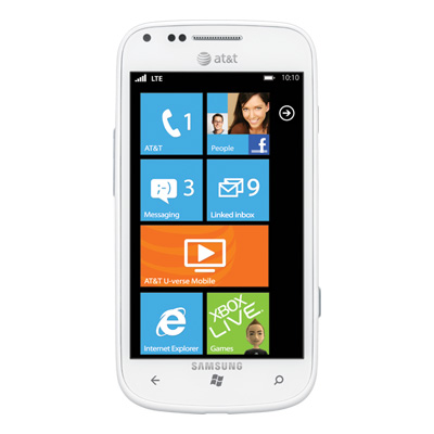 LTE-смартфон Samsung Focus 2 под управлением Win Phone