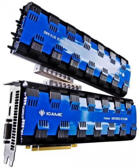 Уникальная видеокарта Colorful iGame GTX 680 Passive (1)