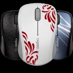 Стильный дизайн и большое время работы — мышь RAPOO 3100p