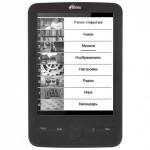 Ritmix RBK-600 – электронная книга с экраном E-ink Pearl