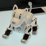 Робот-собака, управляемый смартфоном